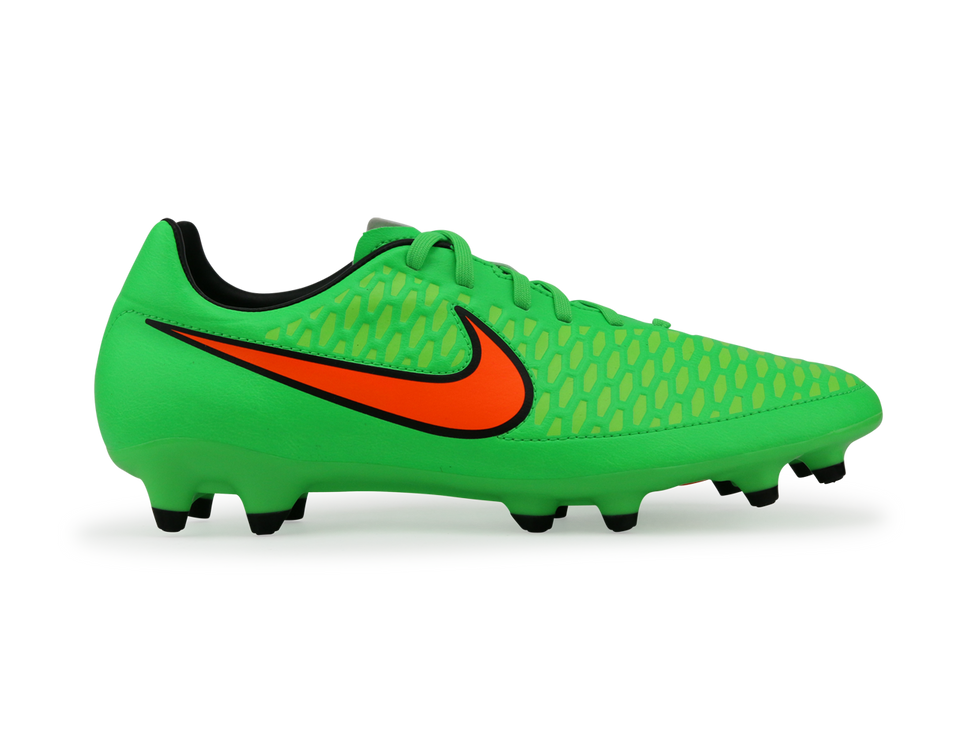 Nike Men's Magista Orden FG Poison Green/Total Orange
