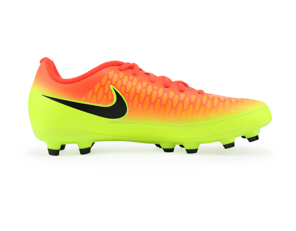 Nike Kids Magista Onda FG Total Crimson/Baclk Volt/Brght Citrus