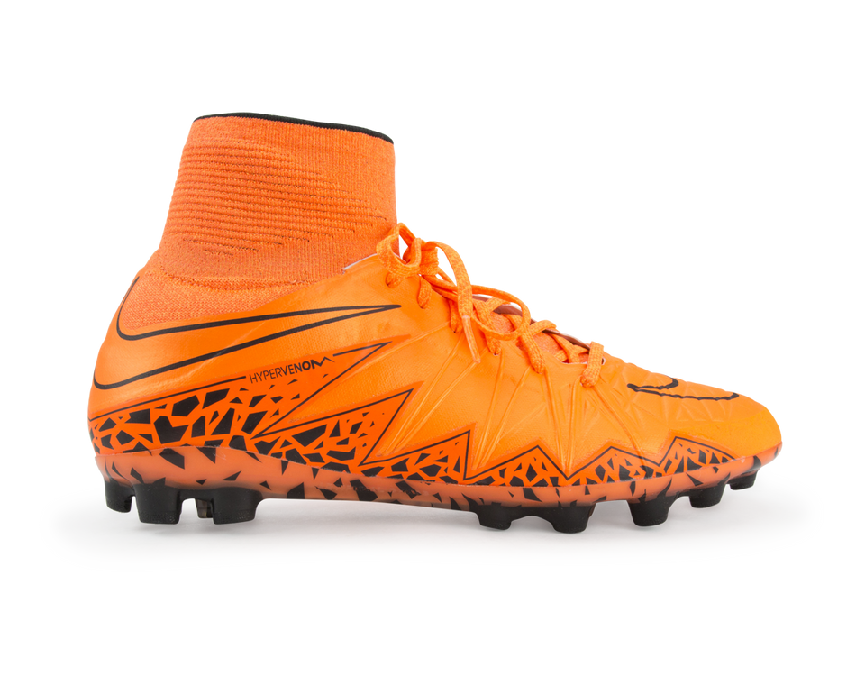 Nike Men's Hypervenom Phantom II AG-R  Total Orange/Bright Crimson