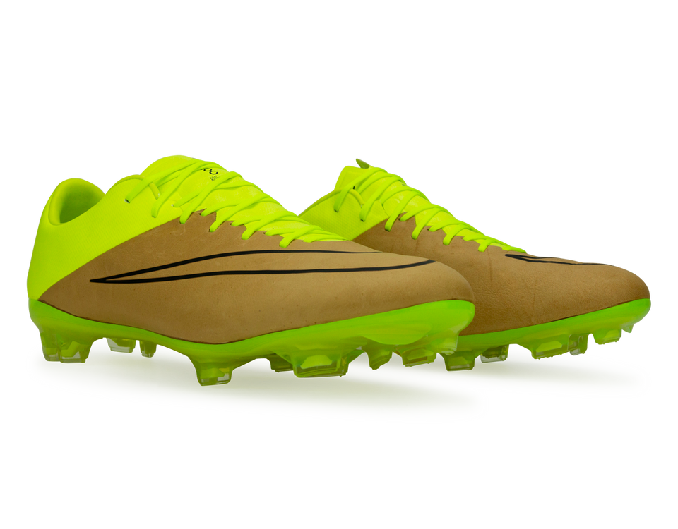Nike Men's Mercurial Vapor X FG Canvas/Black/Volt