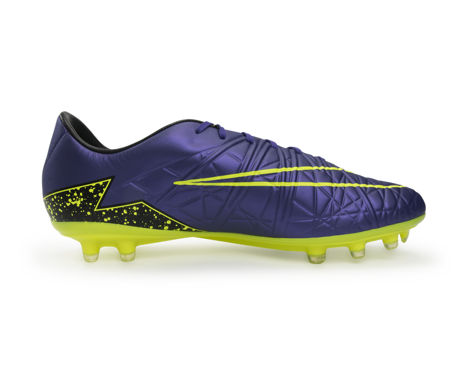 Nike Men's Hypervenom Phatal II FG Hyper Grape/Black/Volt