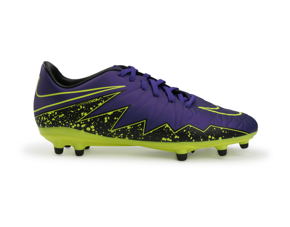Nike Men's Hypervenom Phelon II FG Hyper Grape/Black/Volt
