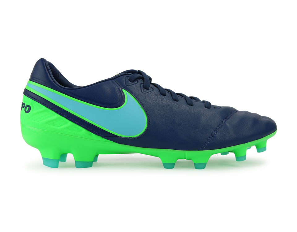 Nike Men's Tiempo Legacy II FG Coastal Blue/Polarized Blue/Rage Green