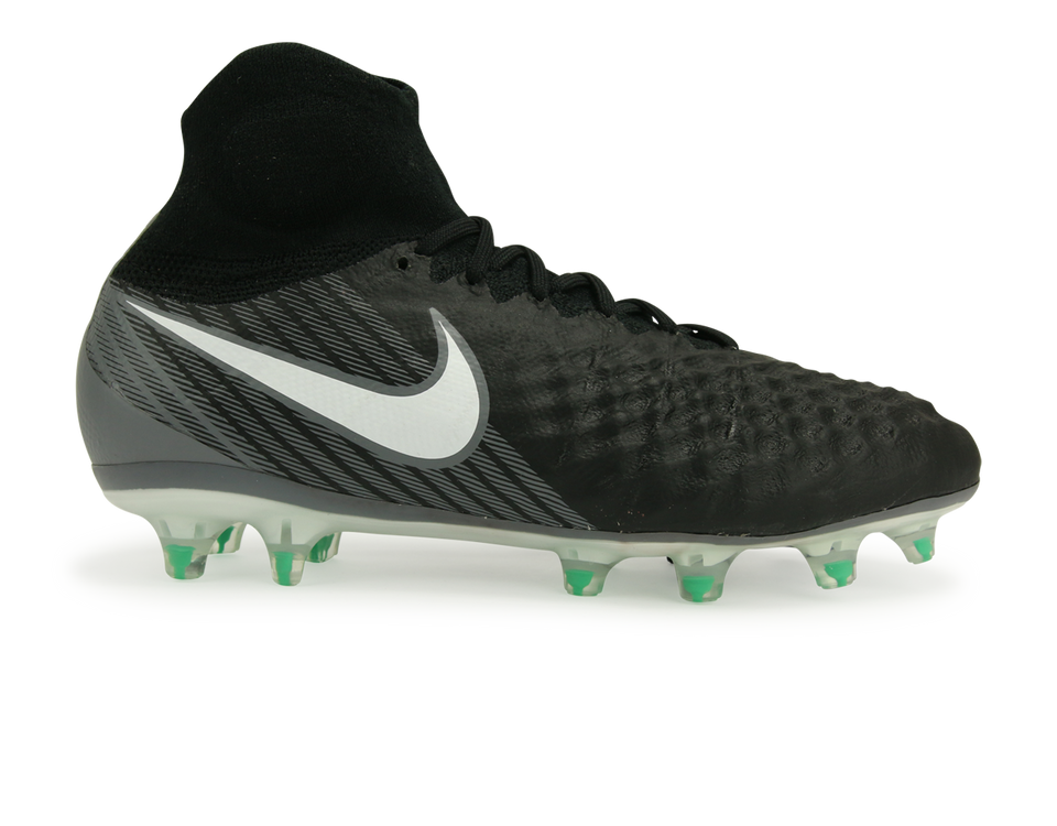Nike Kids Magista Obra II FG Black/White/Cool Grey/Stadium Green