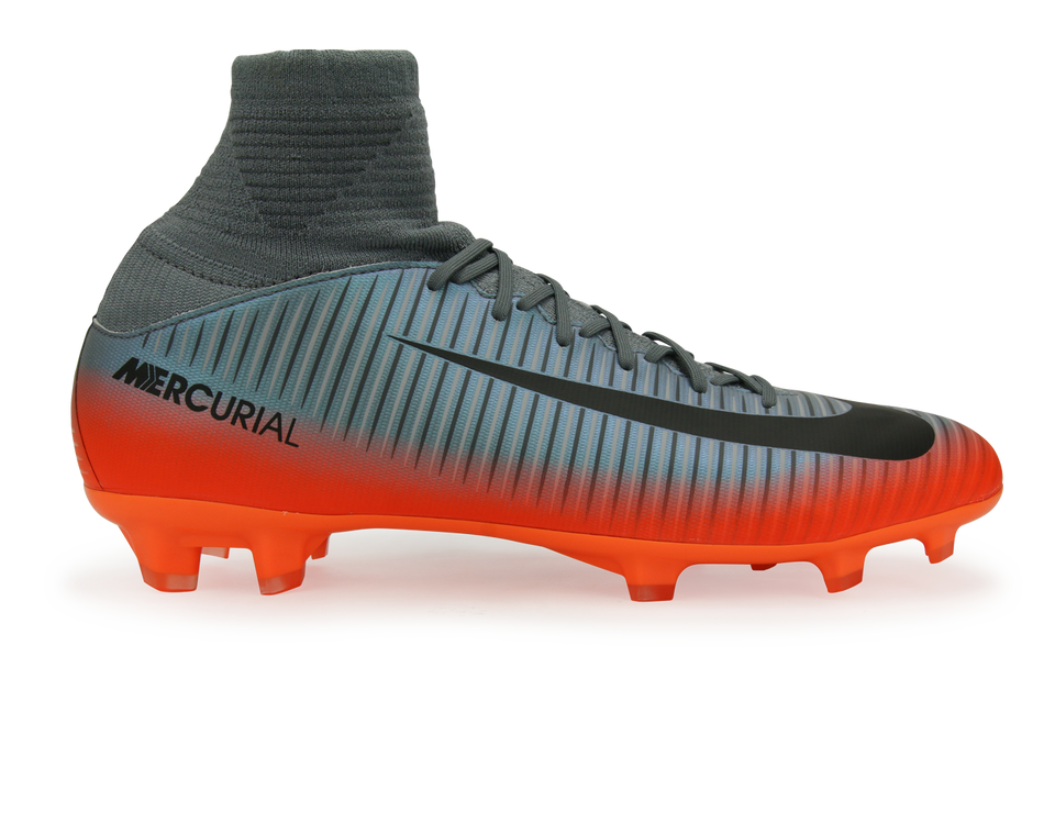Nike Kids Mercurial Superfly V CR7 FG Cool Grey/Metallic Hematite/Wolf Grey