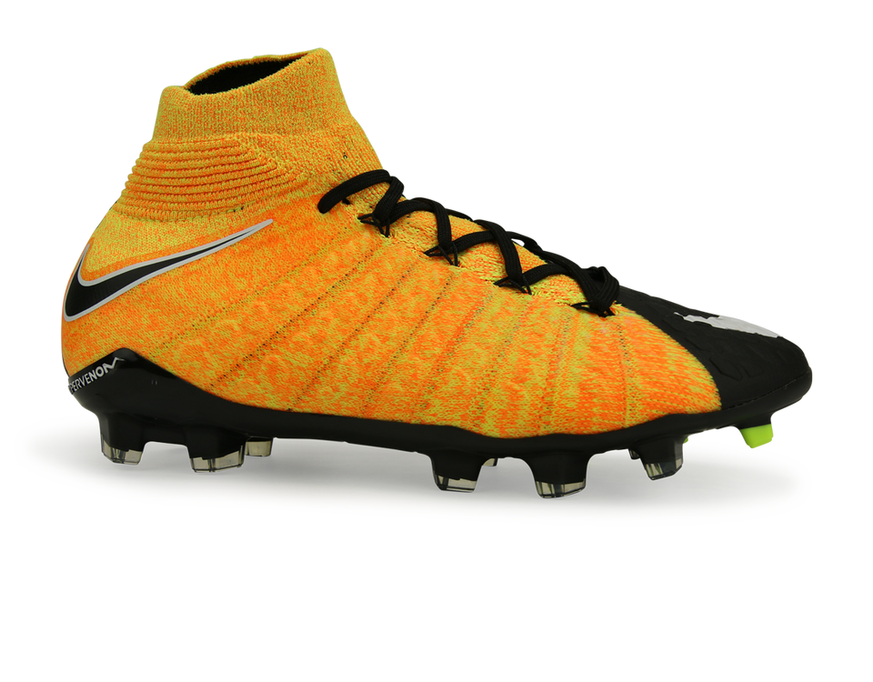 Nike Kids Hypervenom Phantom III Dynamic Fit FG Laser Orange/White/Black