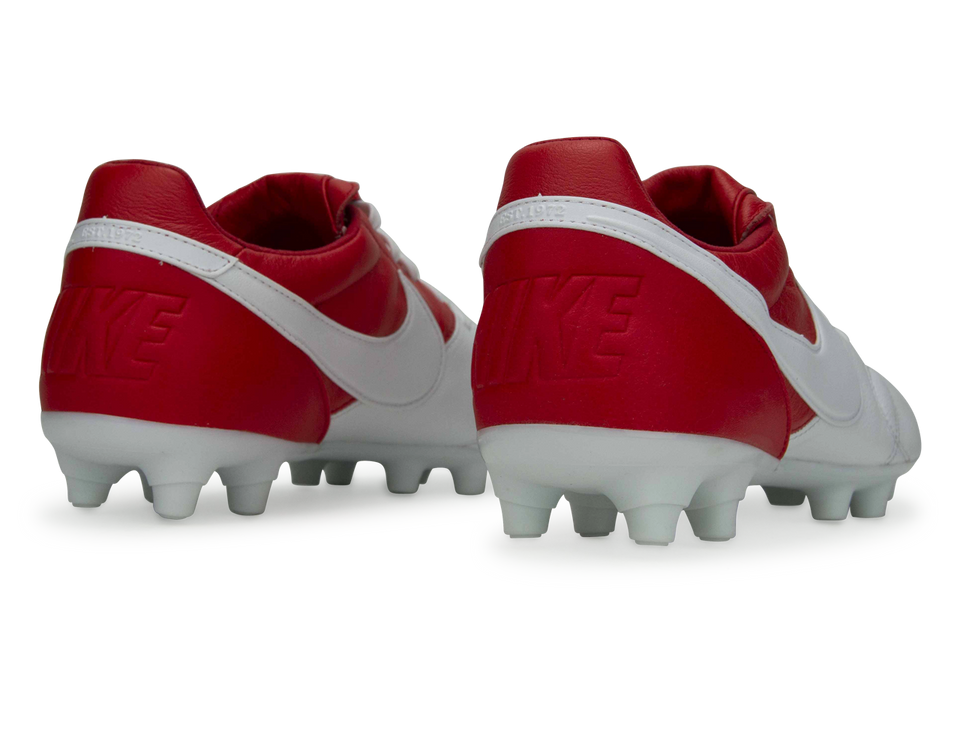 Nike Men's Premier II FG White/University Red