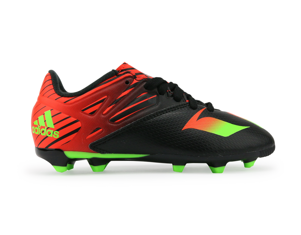 adidas Kids Messi 15.3 FG/AG Core Black/Neon Green/Infrared