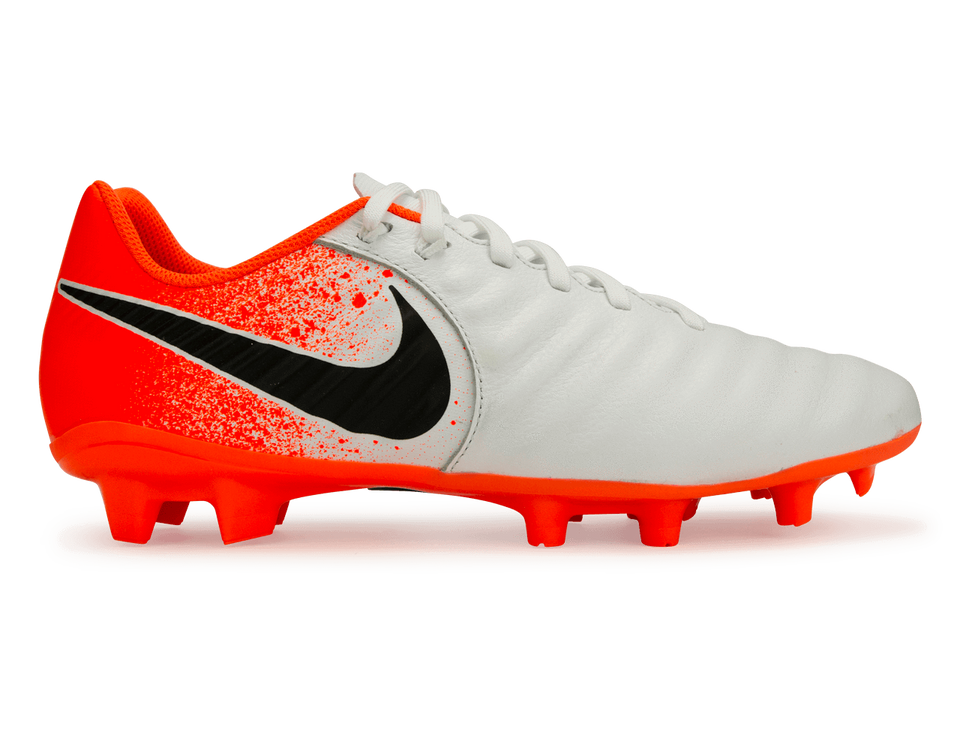 Nike Men's Tiempo Legend 7 Academy FG White/Black/Hyper Crimson