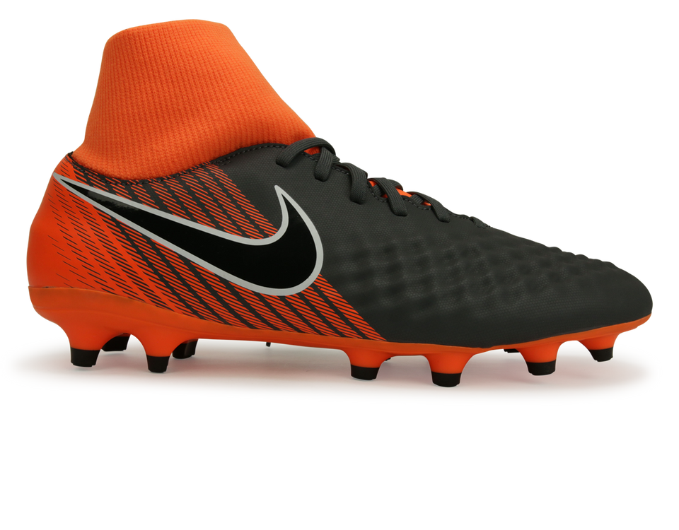 Nike Men's Magista Obra 2 DF FG Dark Grey/Total Orange/White