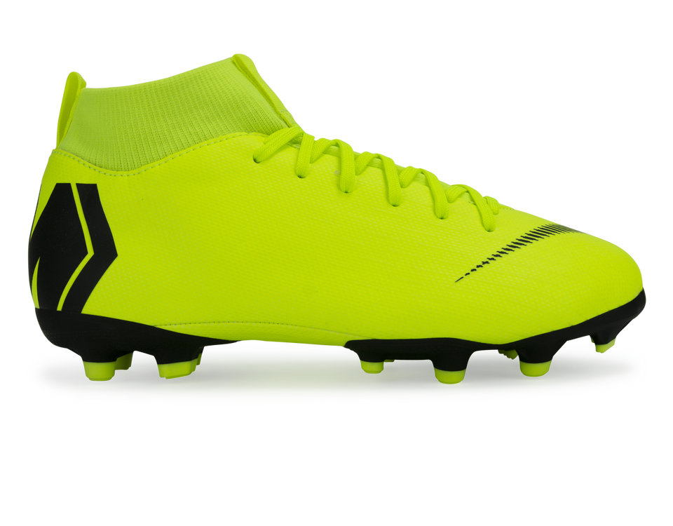 Nike Kids Mercurial Superfly 6 Academy GS FG/AG Volt/Black