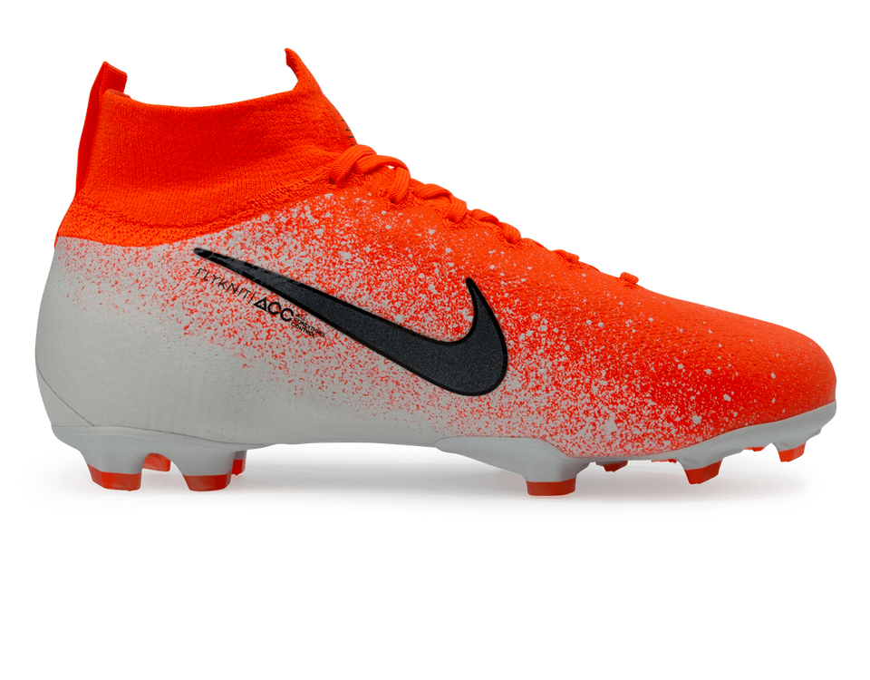 Nike Kids Mercurial Superfly 6 Elite FG Hyper Crimson/Black/White
