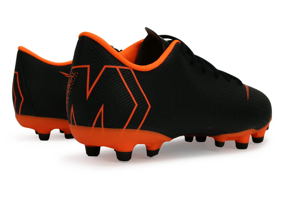 Nike Kids Mercurial Vapor 12 Academy MG Black/White/Total Orange