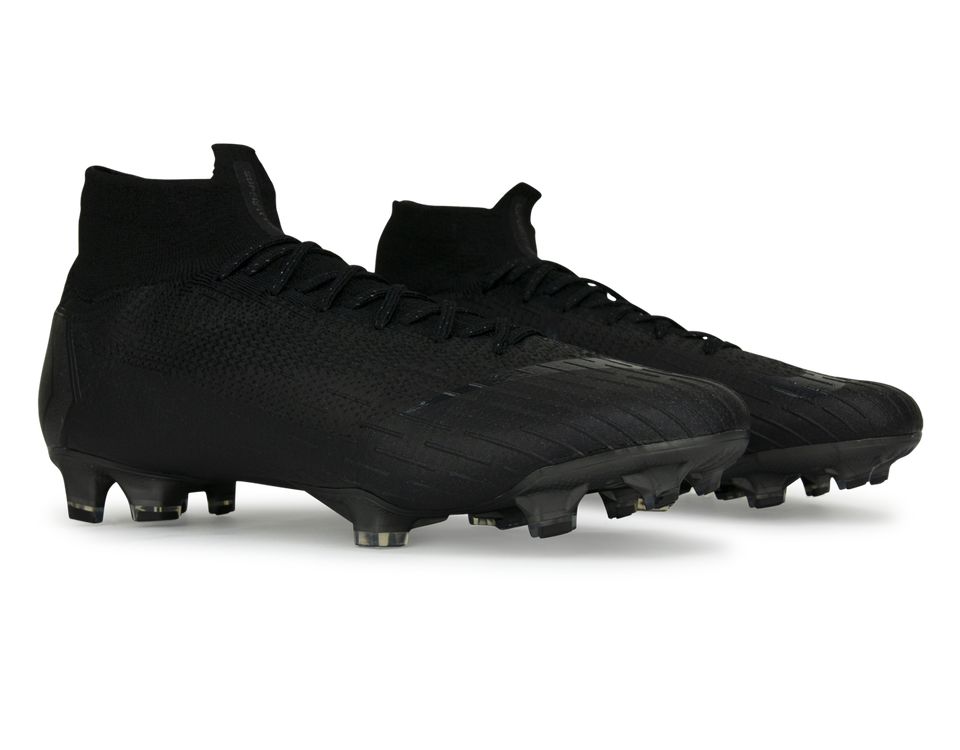Nike Men's Mercurial Superfly 6 Elite FG Black/Black