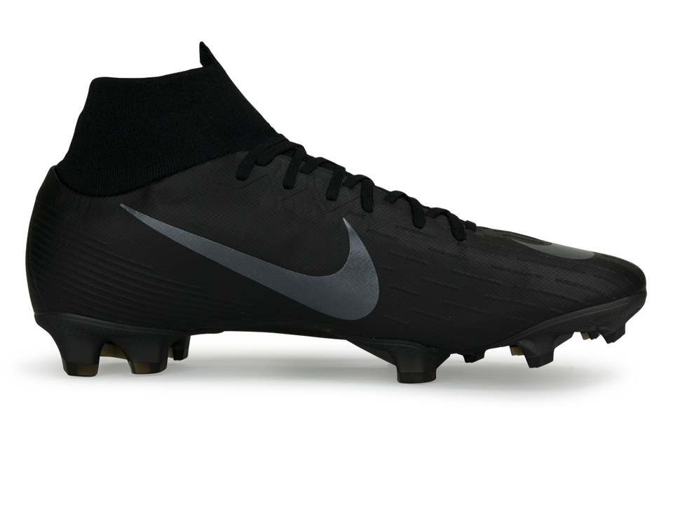 Nike Men's Mercurial Superfly 6 Pro FG Black/Black