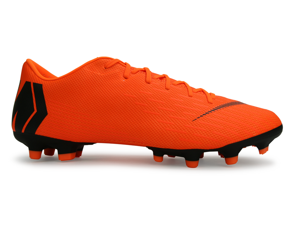 Nike Men's Mercurial Vapor 6 Academy FG/MG Total Orange/Black