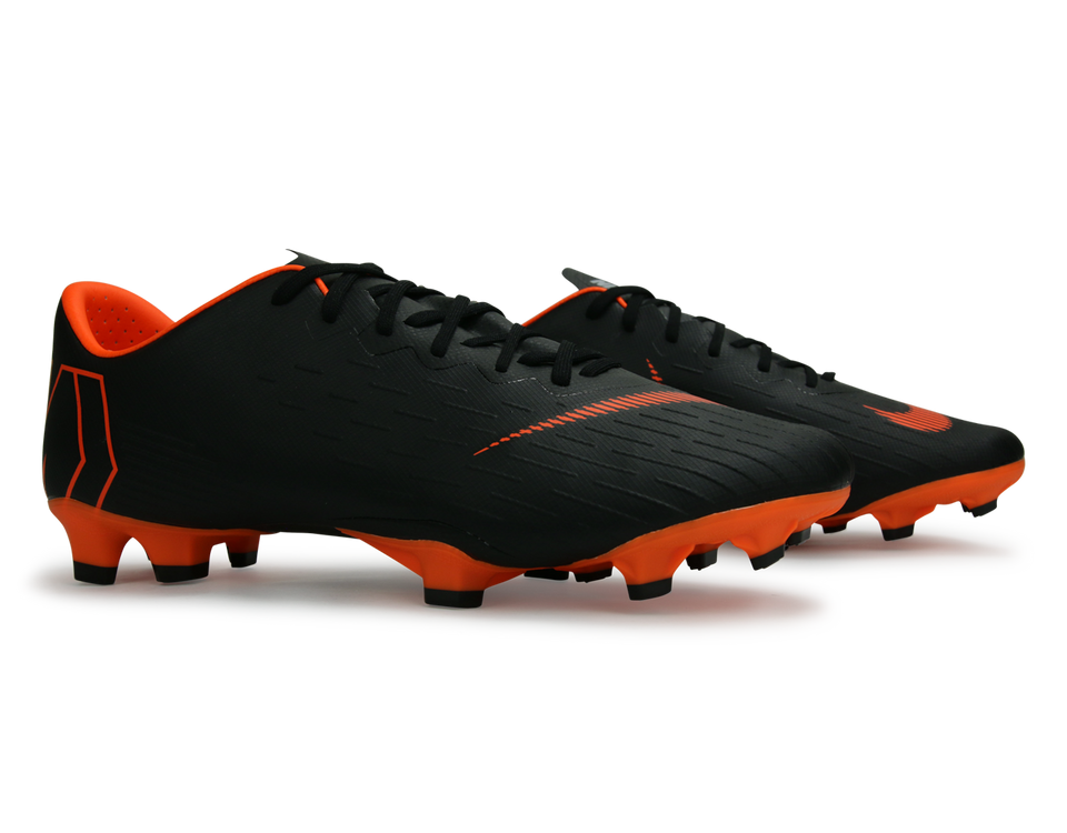 Nike Men's Mercurial Vapor XII Pro FG Black/Total Orange