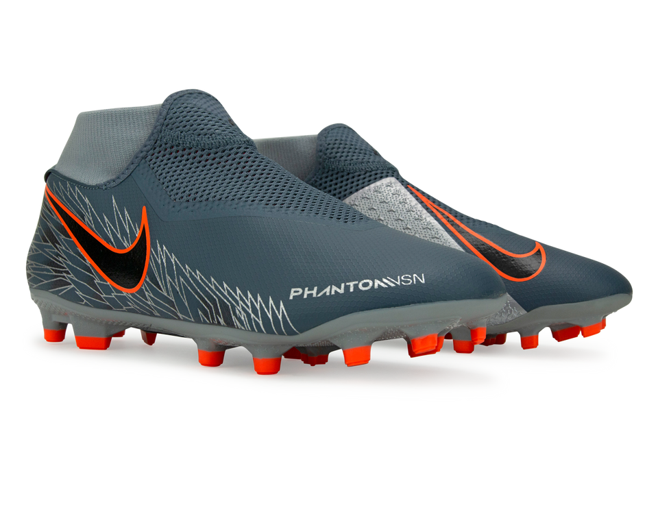 Nike Men's PhantomVSN Academy Dynamic Fit MG FG Armory lue/Crimson