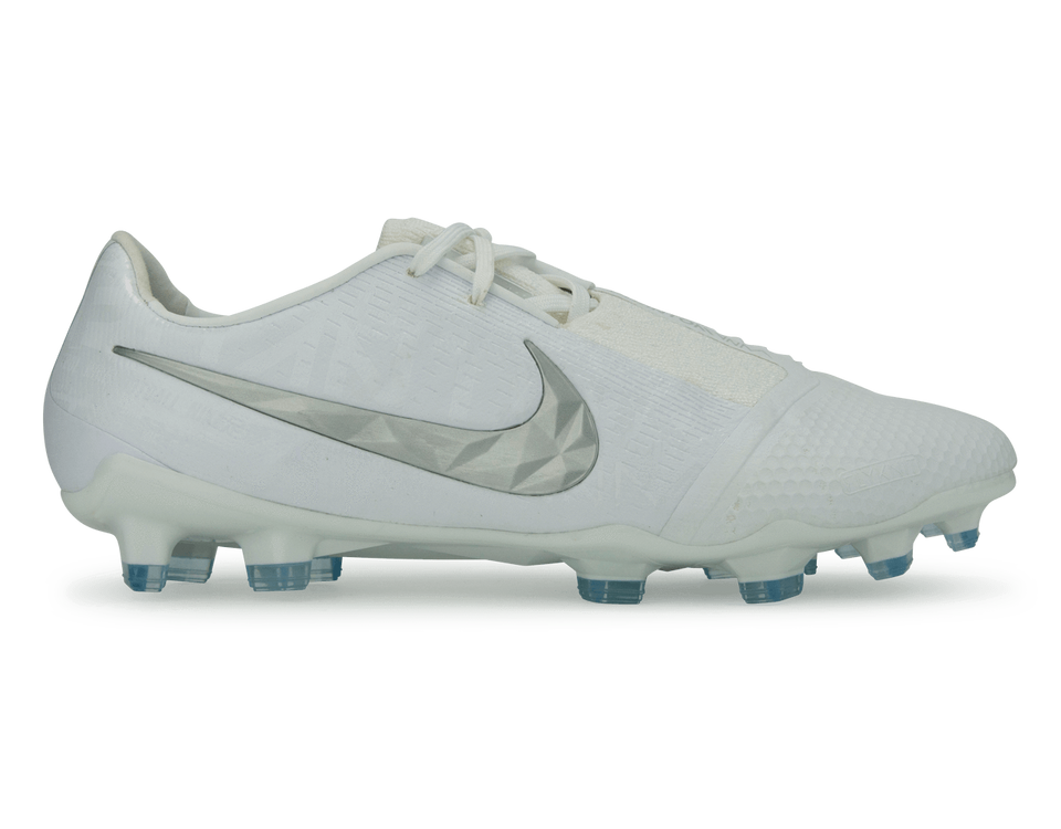 Nike Men's PhantomVNM Elite FG White/Metalic Platinum