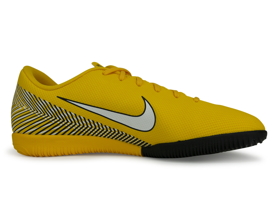 Nike Kids Mercurial Superfly 6 Academy Neymar Jr Indoor Soccer Shoes Amarillo/White/Black
