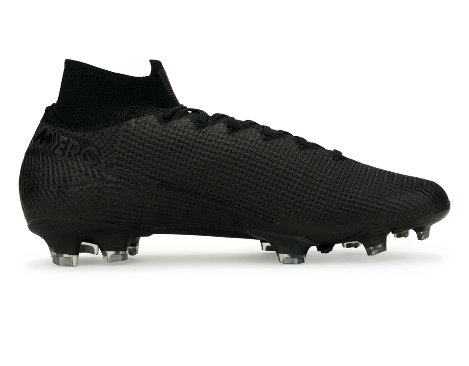 Nike Men's Mercurial Superfly 7 Elite FG Black/Metalic Cool Grey