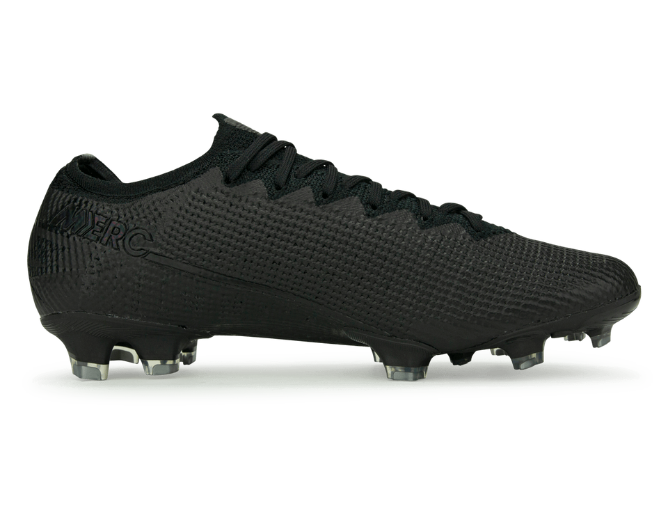 Nike Men's Mercurial Vapor 13 Elite FG Black/Metalic Cool Grey