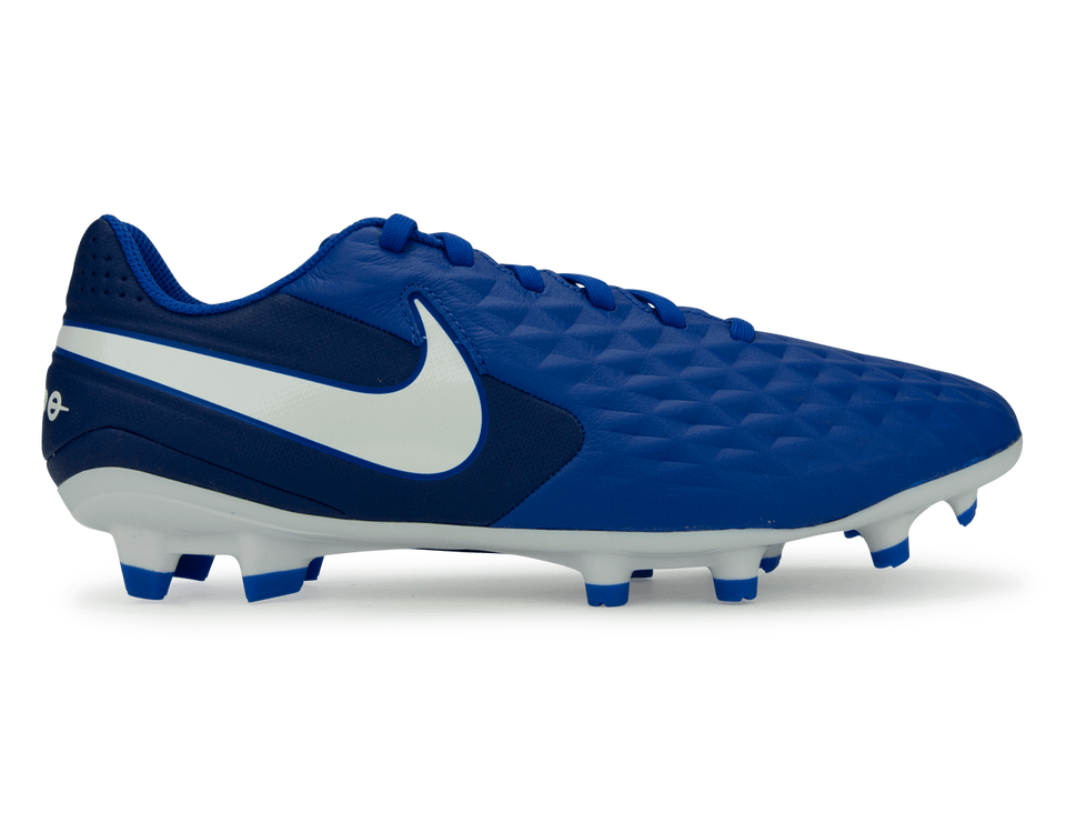Nike Men's Tiempo Legend 8 Academy FG/MG Hyper Royal/White/Deep Royal Blue