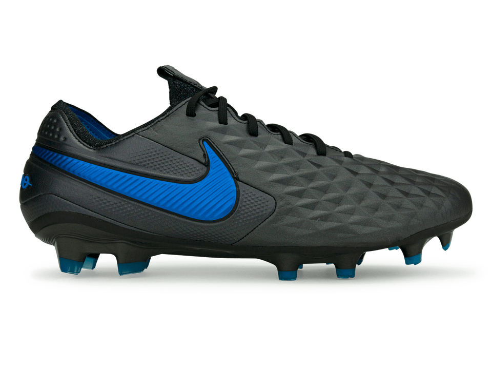 Nike Men's Tiempo Legend 8 Elite FG/MG Black/Blue/Hero