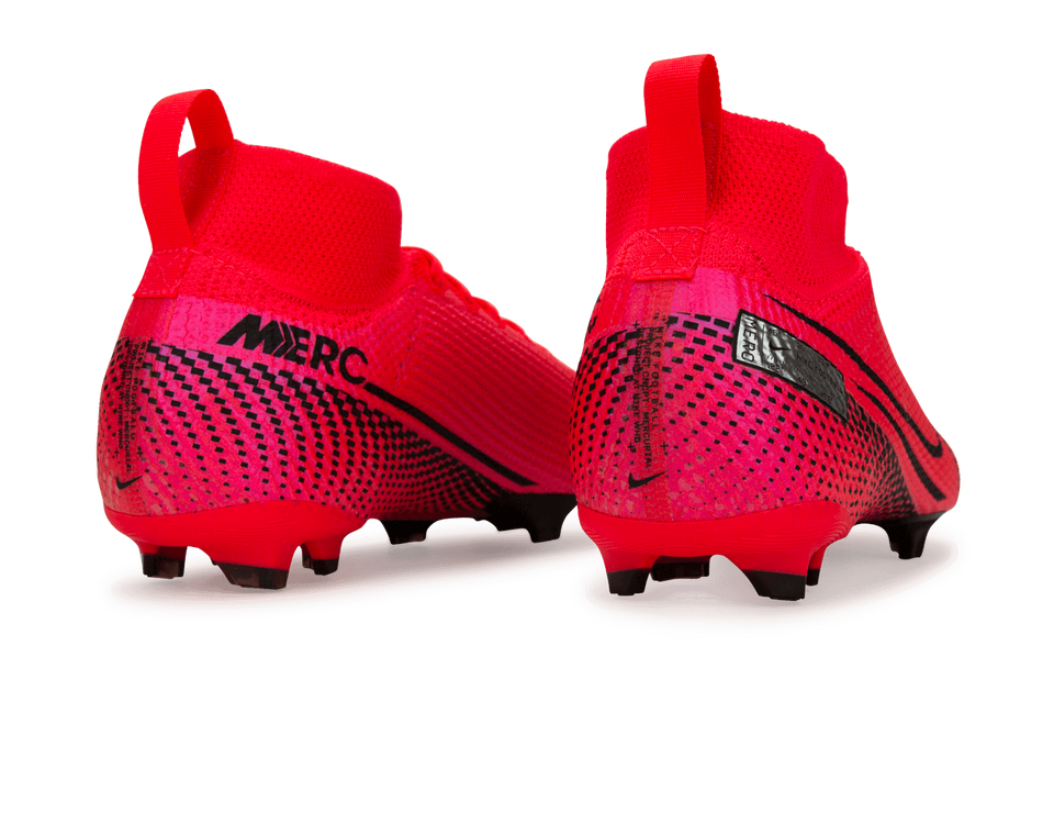 Nike Kids Mercurial Superfly 7 Elite FG Laser Crmson/Black