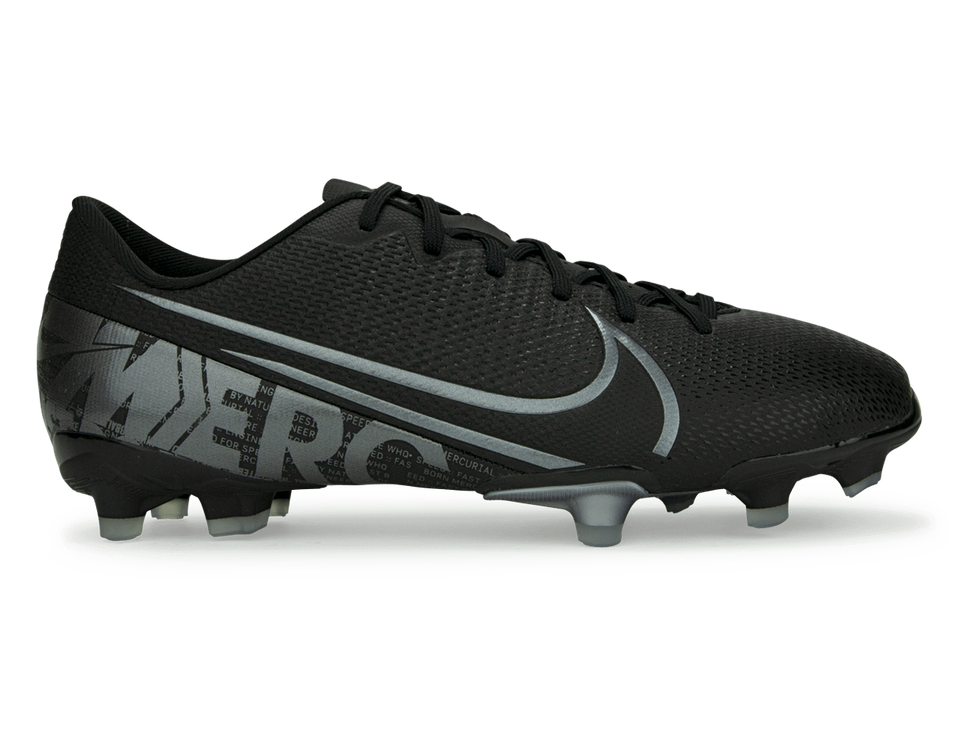 Nike Kids Mercurial Vapor 13 Academy FG/MG Black/Metalic Cool Grey