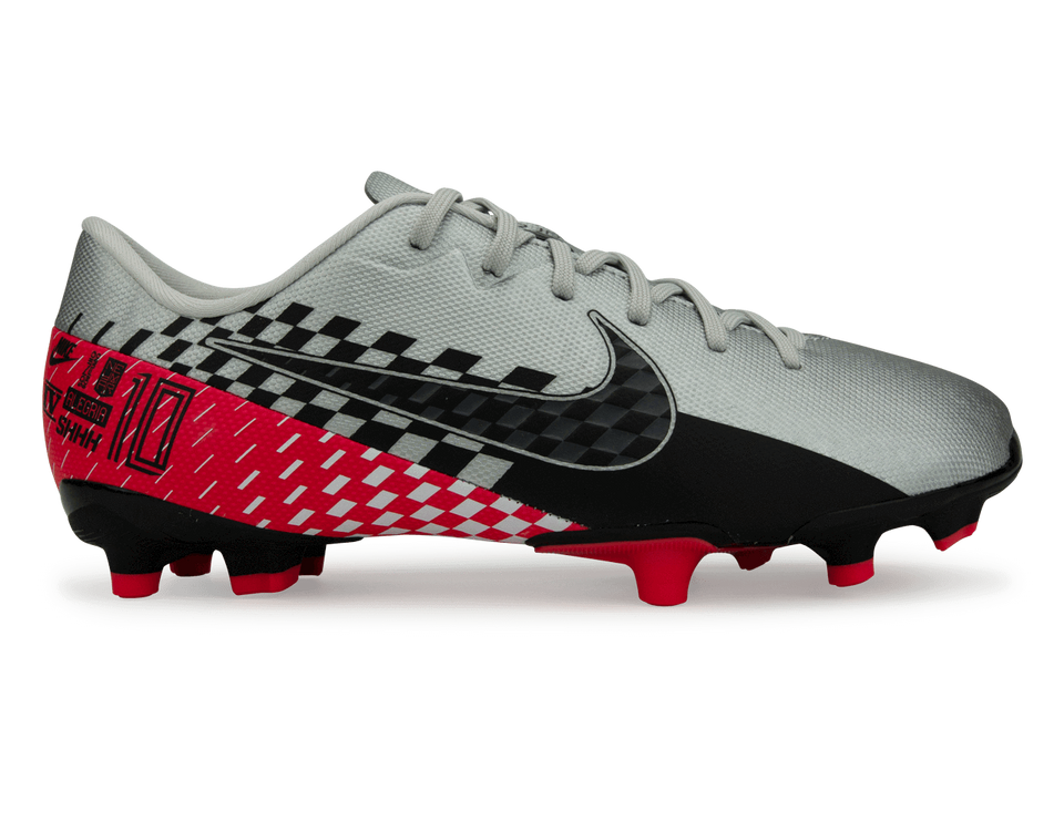 Nike Kids Mercurial Vapor 13 Academy FG/MG Chrome/Black/Red