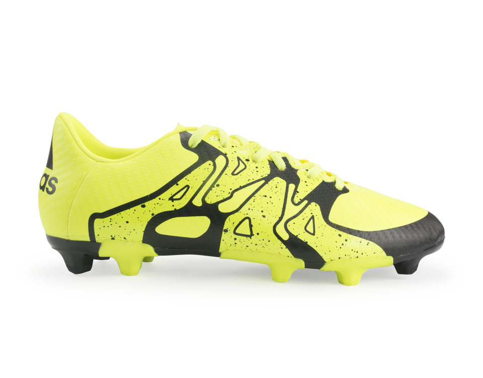 adidas Kids X 15.3 FG/AG Solar Yellow/Black
