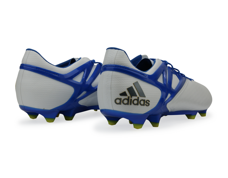 adidas Men's Messi 15.1 FG White/Prime Blue/Black