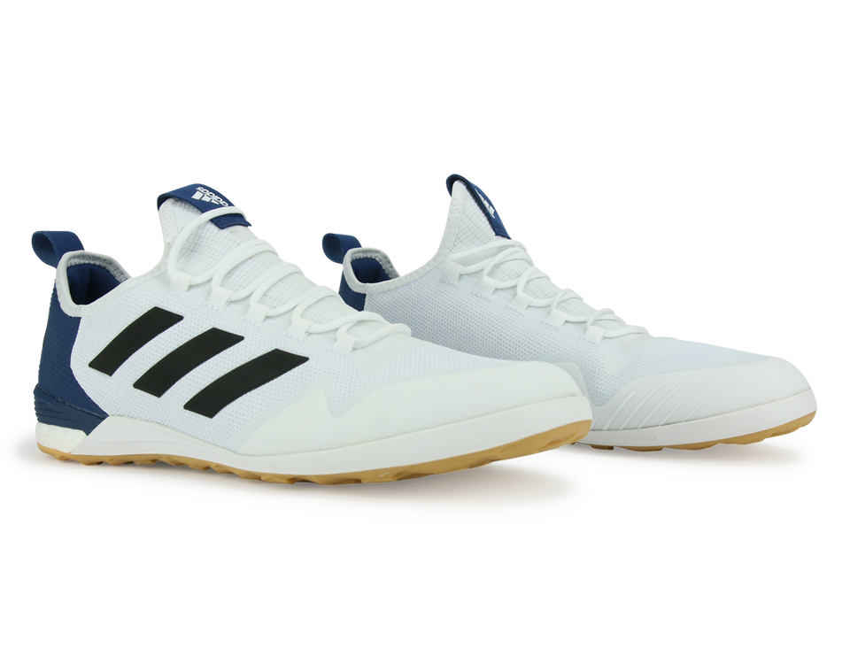 adidas Men's ACE Tango 17.1 Indoor Soccer Shoes Running White/Black