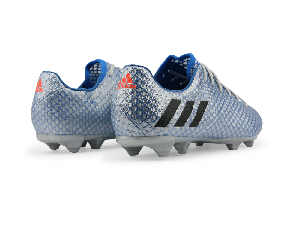 adidas Kids Messi 16.1 FG/AG Silver Metalic/Core Black/Sho Blue