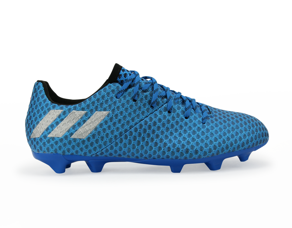 adidas Kids Messi 16.1 FG/AG Blue/Metallic Silver