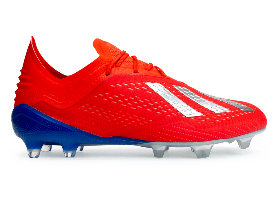 adidas Men's X 18.1 FG Red/Silver