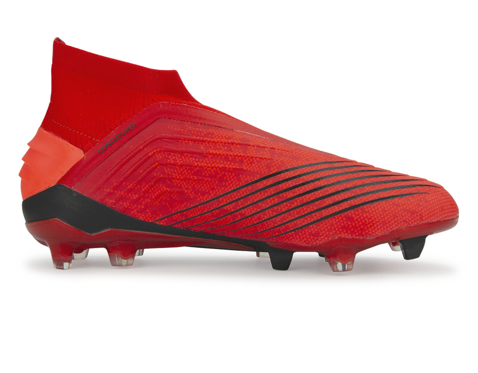 adidas Men's Predator 19+ FG Active Red/Solar Red