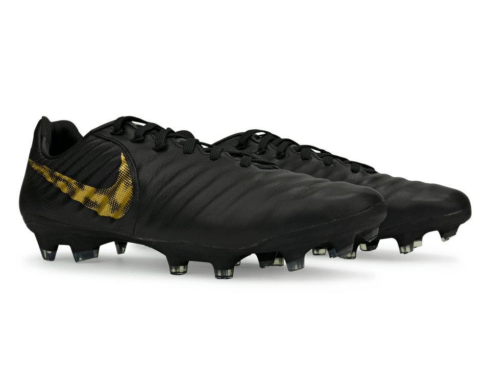 Nike Men's Tiempo Legend 7 Pro CA FG Black/Metaliic Vivid Gold