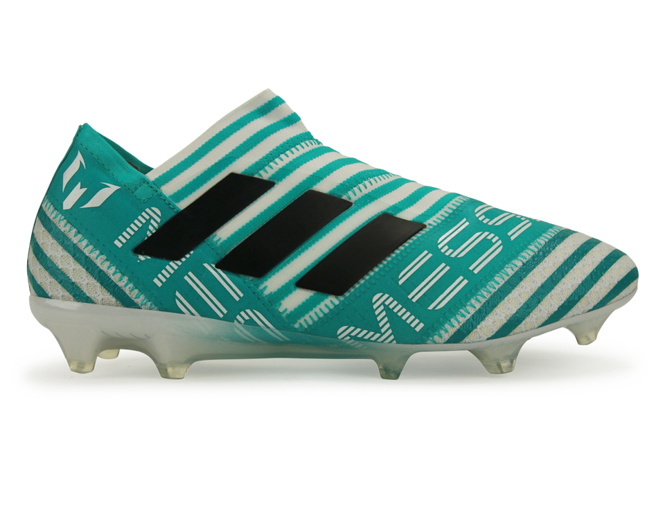 adidas Men's Nemeziz Messi 17+ FG White/Legend Ink/Energy Blue