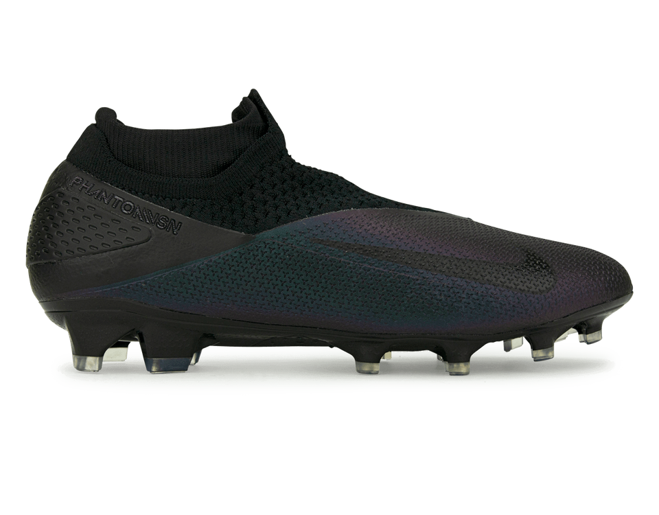 Nike Men's PhantomonVSN 2 Elite DF FG Black/Black