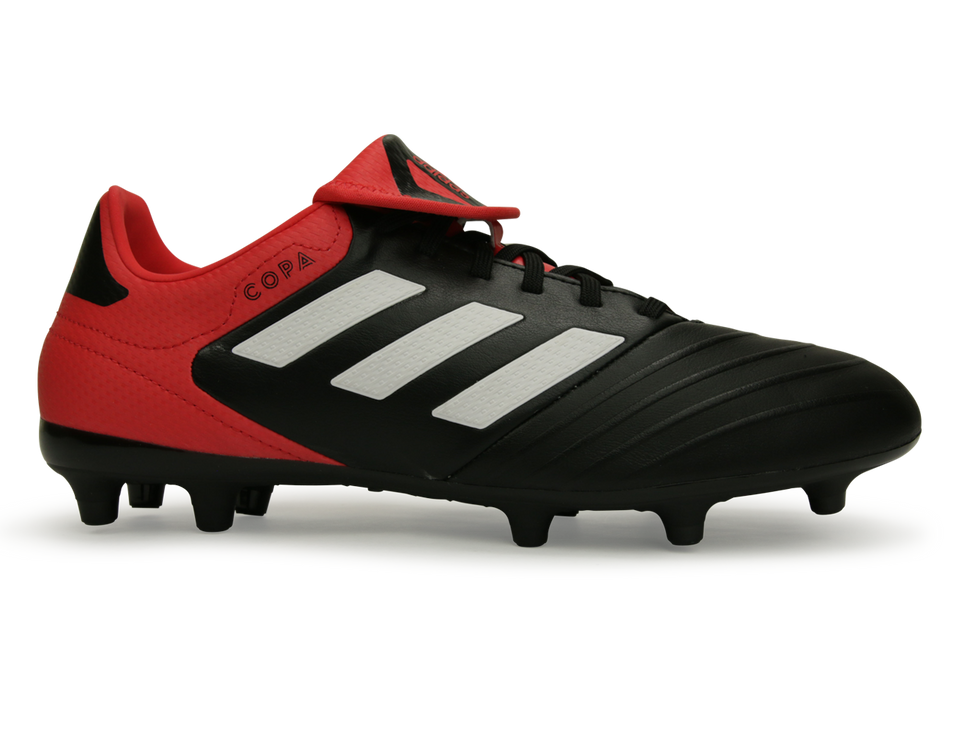adidas Men's Copa 18.3 FG Black/White/Real Coral
