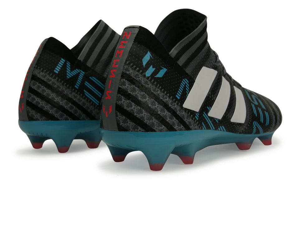 adidas Men's Nemeziz Messi 17.1 FG Grey/White/Core Black