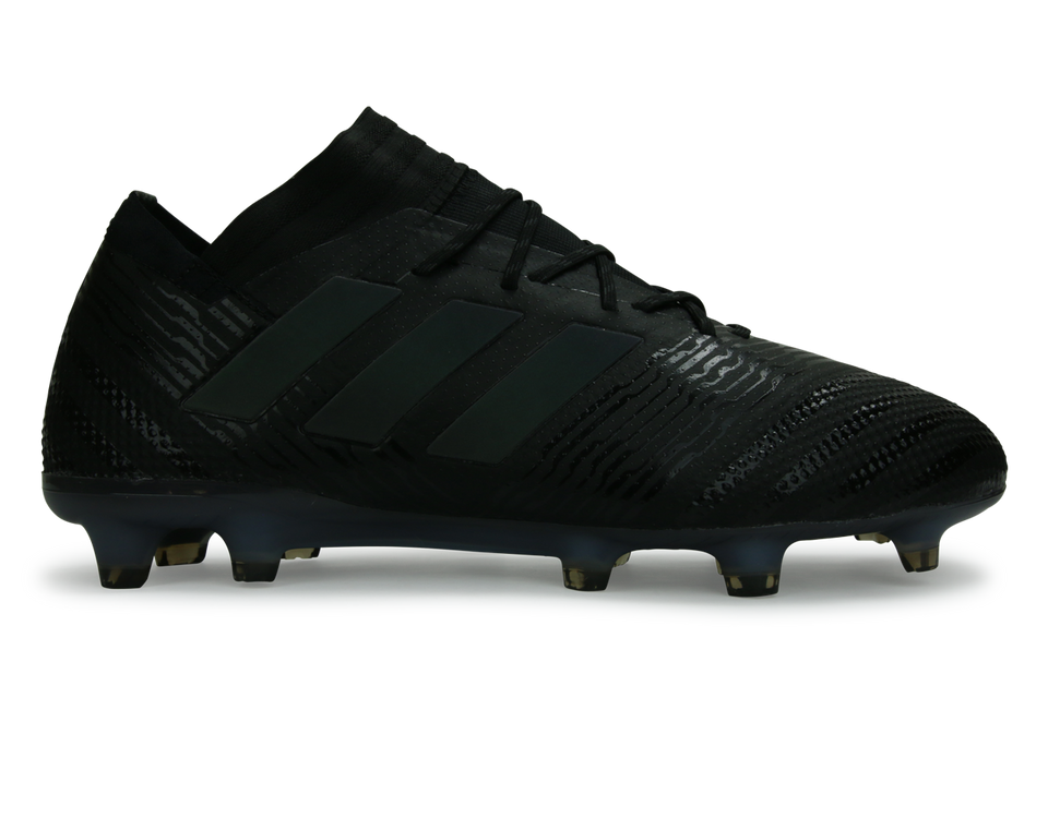adidas Men's Nemeziz 17.1 FG Core Black/Hi-Res Green