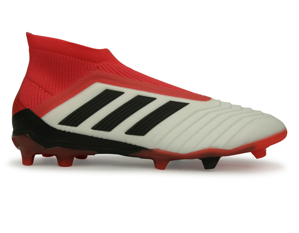 adidas Kids Predator 18+ FG White/Core Black