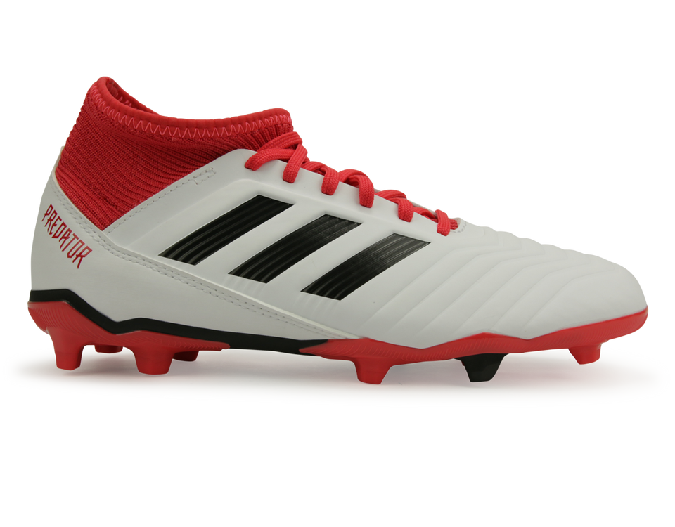 adidas Kids Predator 18.3 FG White/Core Black