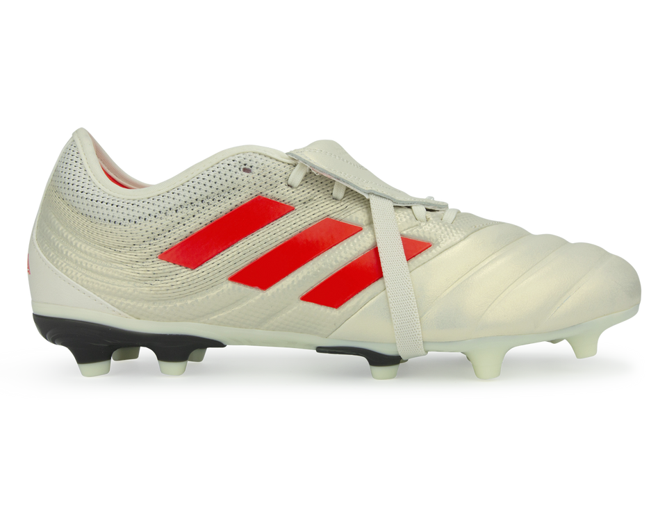 adidas Men's Copa Gloro 19.2 FG Off White/Solar Red