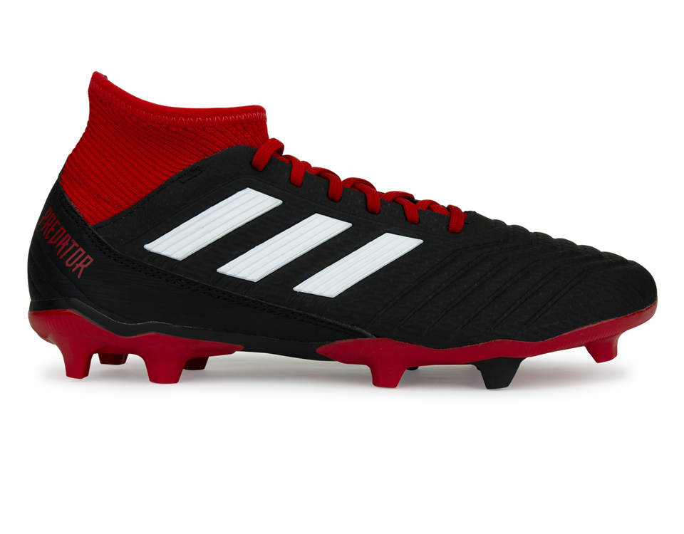 adidas Men's Predator 18. 3 FG Core Black/White