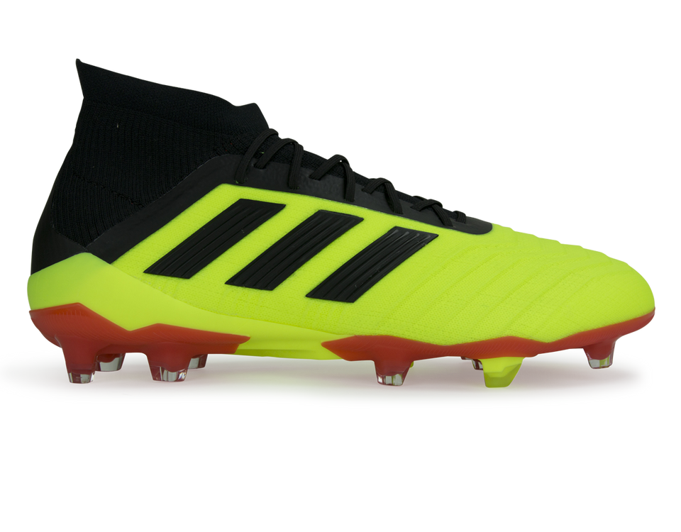 adidas Men's Predator 18.1 FG Solar Yellow/Core Black