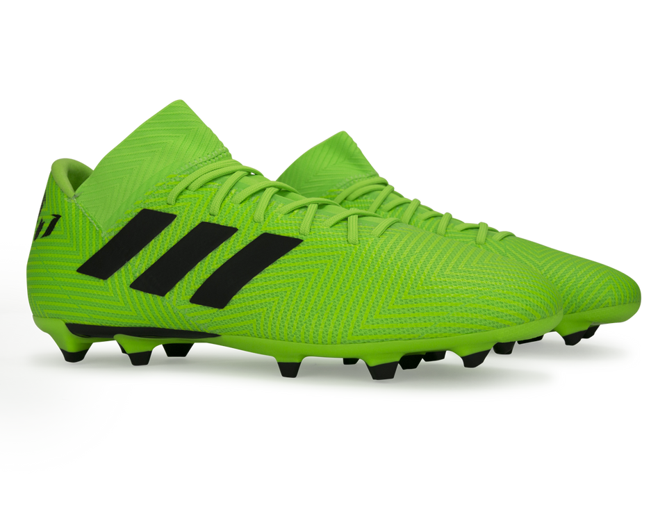 adidas Men's Nemeziz Messi 18.3 FG Solar Green/Core Black